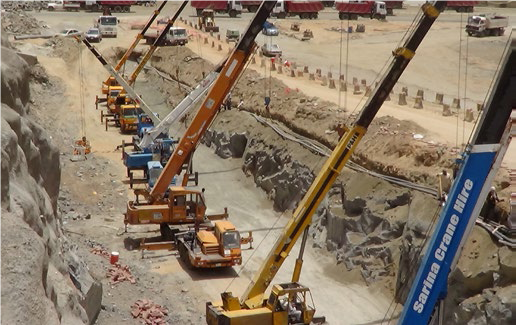 Expansion of Western Yard At Jamarath – Makkah