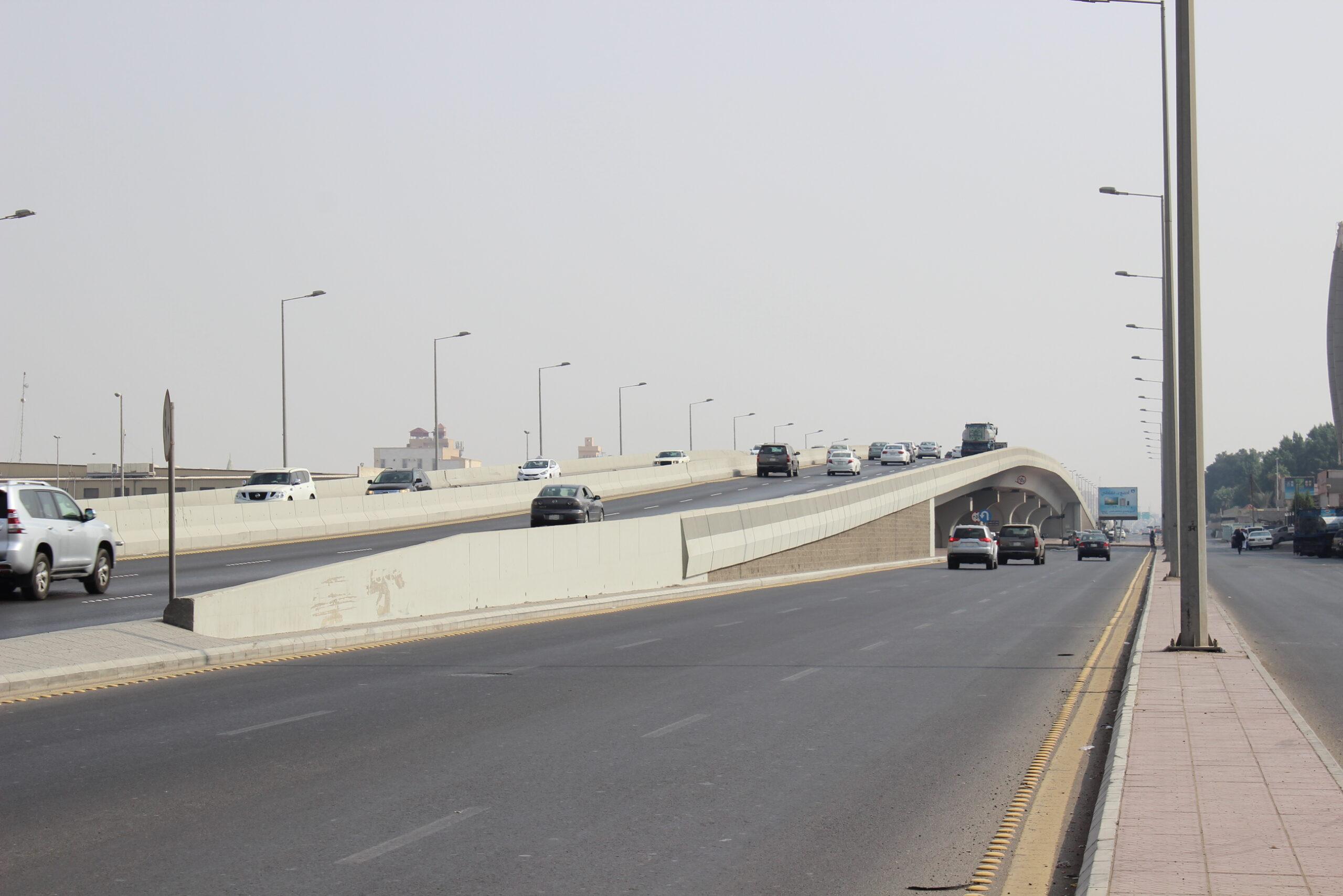 Bridge of Pr. Majid St with Bin Baz St – Jeddah