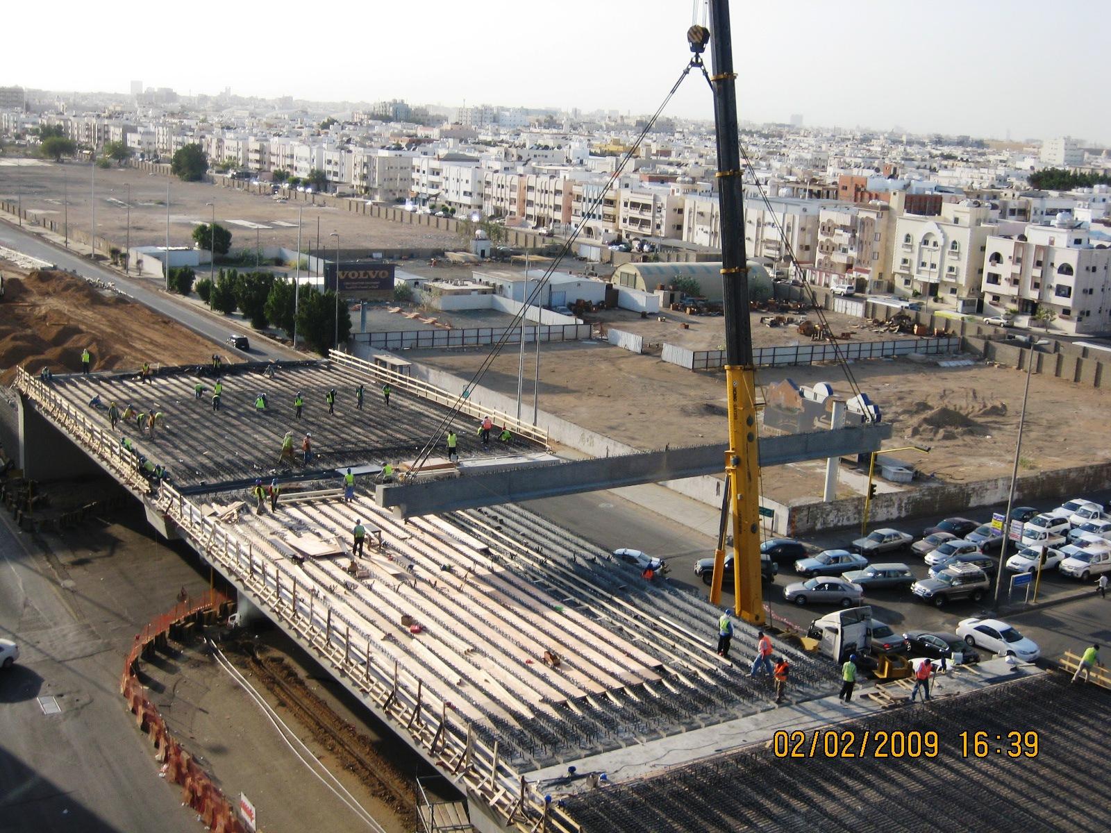 Bridge of Pr Mutaib St with Pr. Mohd. Abdul Aziz St – Jeddah