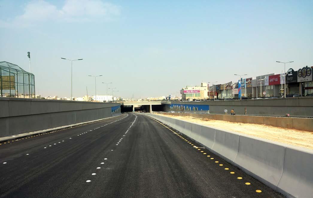 تنفيذ مشروع إنشاء نفق عند تقاطع الأمير سعد بن عبدالرحمن مع طريق هارون الرشيد بالرياض