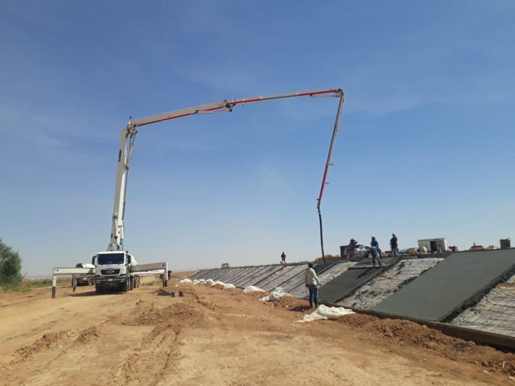 تنفيذ مشروع درء أخطار السيول والفياضانات في المحافظات والبلديات التابعة لمنطقة تبوك